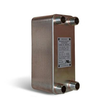 - 70 Brazed Plate Heat Exchanger, 175,000 BTU