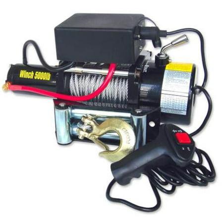 - 12V Electric Winch 5000lb