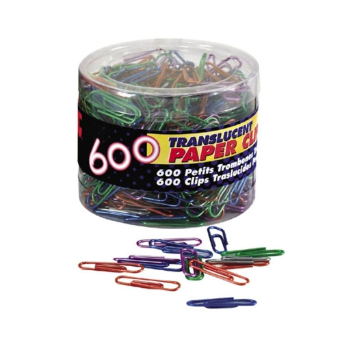 OIC OIC  Paper Clips, 600 ea