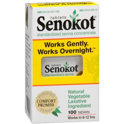 Senokot Tablets 100 Tablets (Pack of 3)