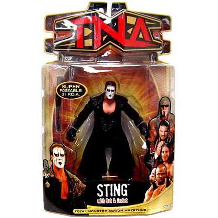 TNA Wrestling Series 7 Sting Action Figure for $<!---->