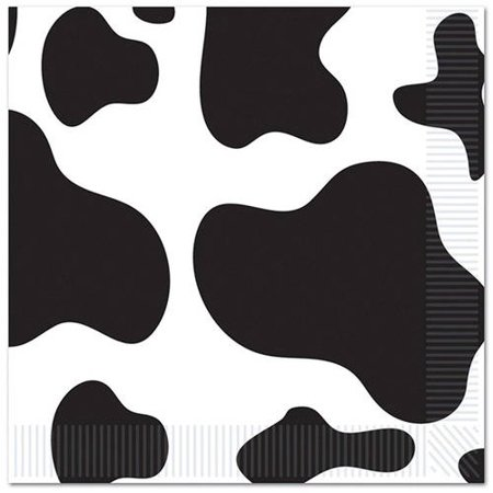 Cow Beverage Napkins, 16pk for $<!---->