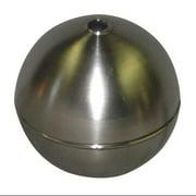 NAUGATUCK GRT60S418B Float Ball,Round,SS,6 In