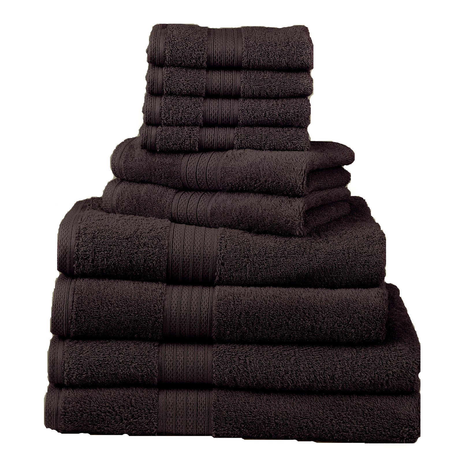Divatex Home Fashions 12 pc. Towel Bath Towel Set