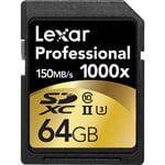 Lexar Lexar Media - LEXAR 64GB PROFESSIONAL 1000X