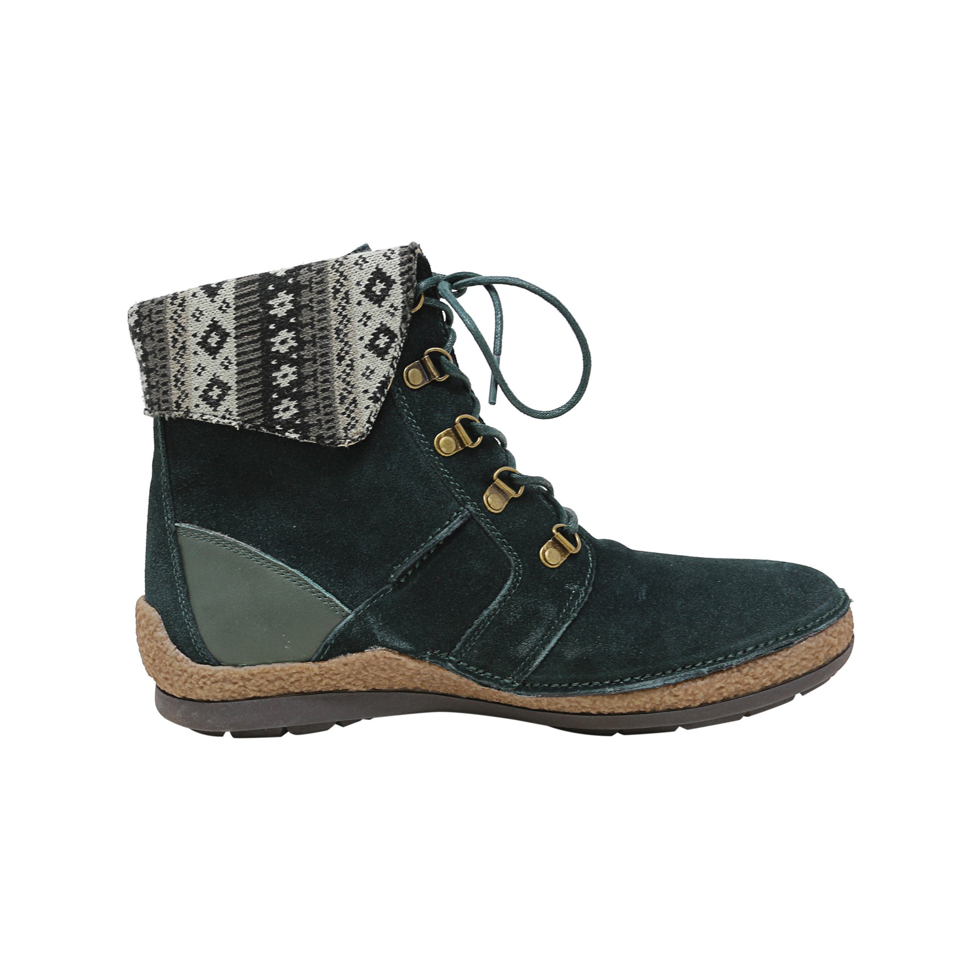 57d9d107b5a Propet Women's Dayna Forest Green High-Top Leather Boot - 11W