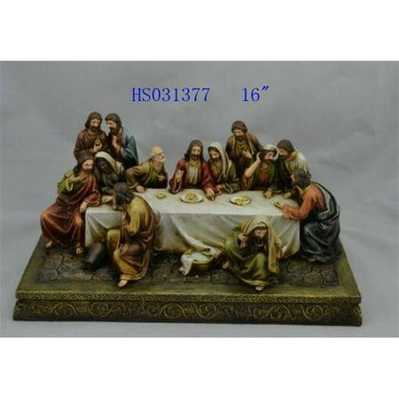 Hi-Line Gift 81894 Christine Figurine - Last Supper Statue