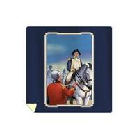 American Revolution - Cornwallis - Lantern Press Artwork (88x88 Queen Microfiber Duvet Cover)