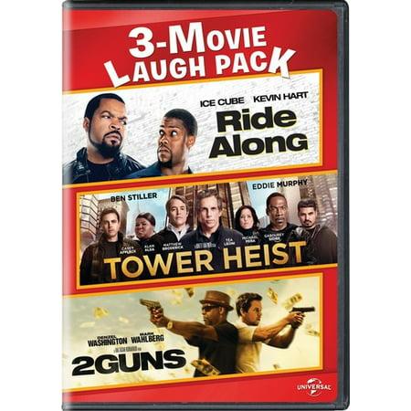 Ride Along / Tower Heist / 2 Guns (DVD)](Payday 2 Halloween Heist)
