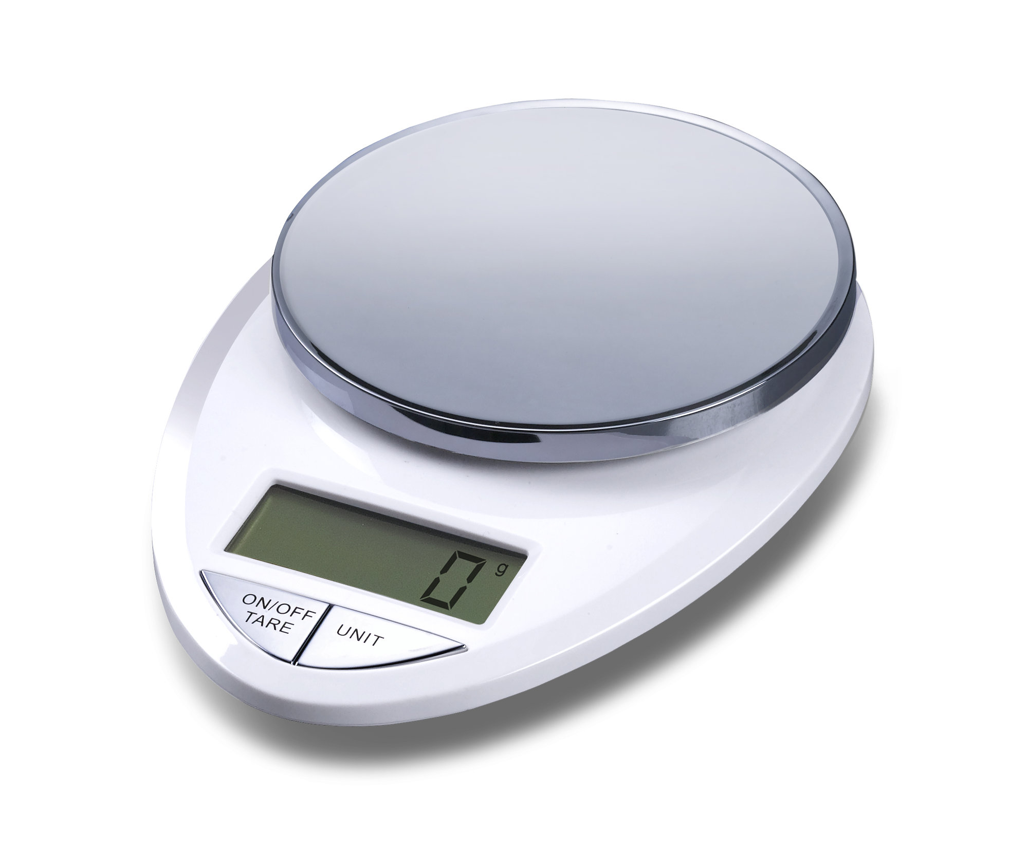 EatSmart Precision Pro Digital Kitchen Scale in White / Chrome ...