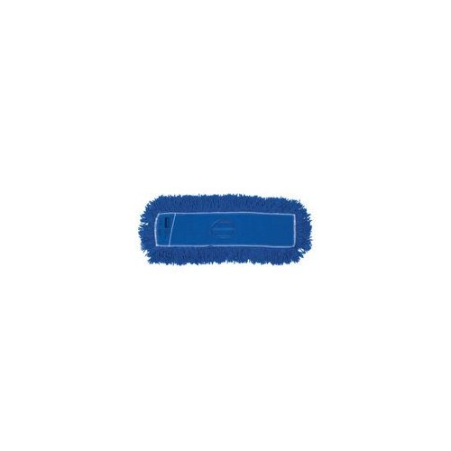 Newell Rubbermaid Commercial J35200BL00 18X5 Synthetic Dust Mop Twisted Loop - Synthetic - Each