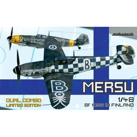 - 1/48 Mersu/Bf109 in Finland Fighter Dual Combo (Ltd Edition Plastic Kit)