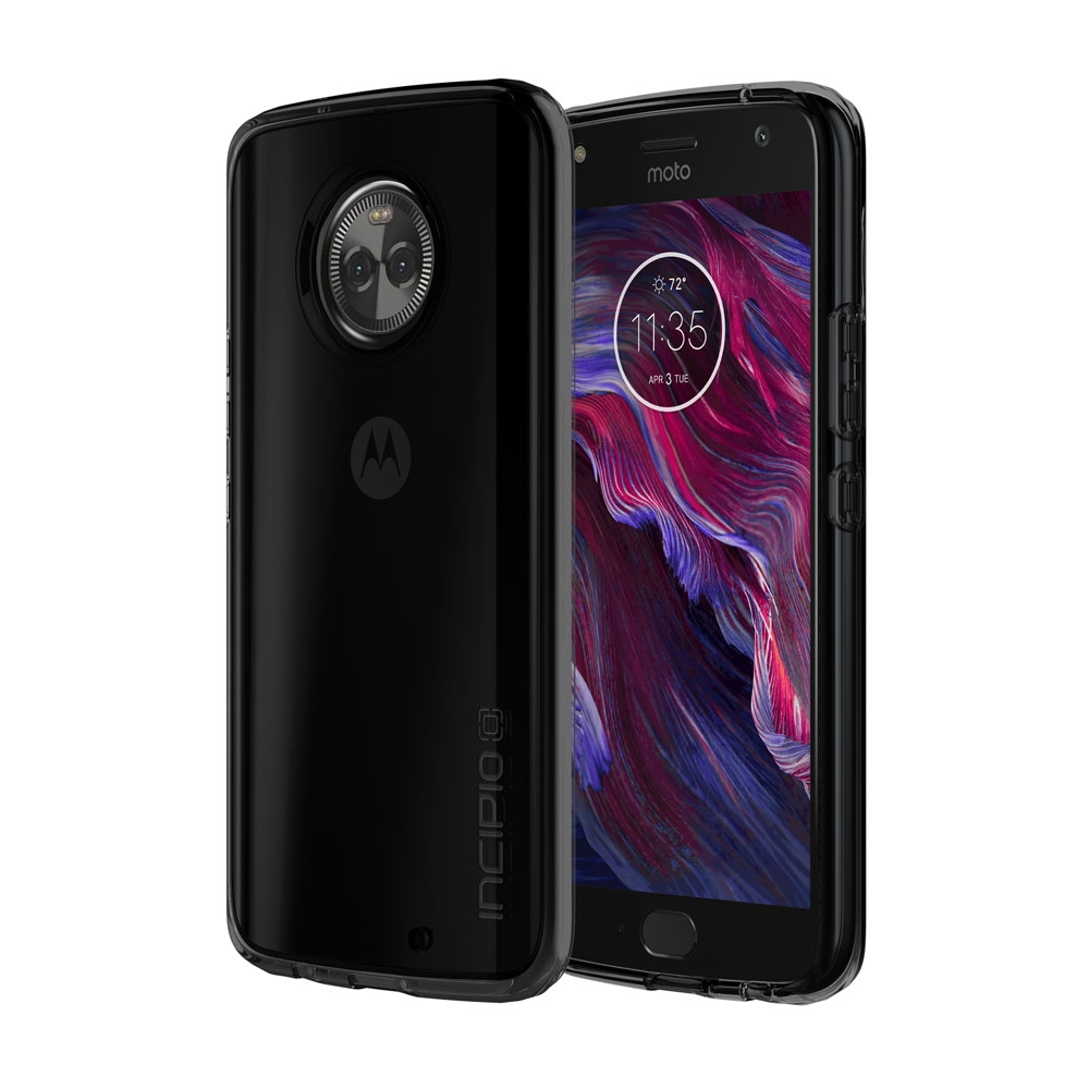 Incipio NGP Pure Motorola Moto X4 Case with Clear, Shock-Absorbing Polymer Material for Motorola Moto X4 -