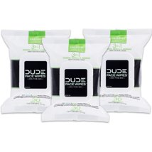 Facial Cleansing Wipes: Dude Face Wipes