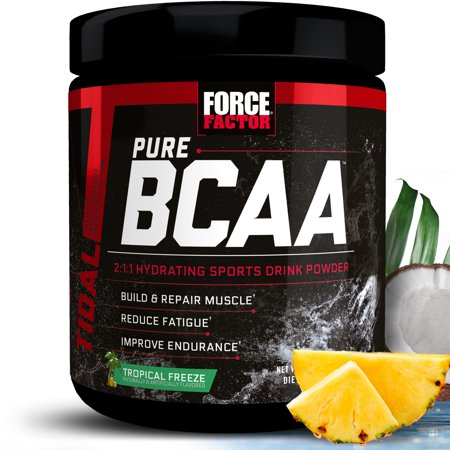 Force Factor Pure BCAA, Tropical Freeze, 30