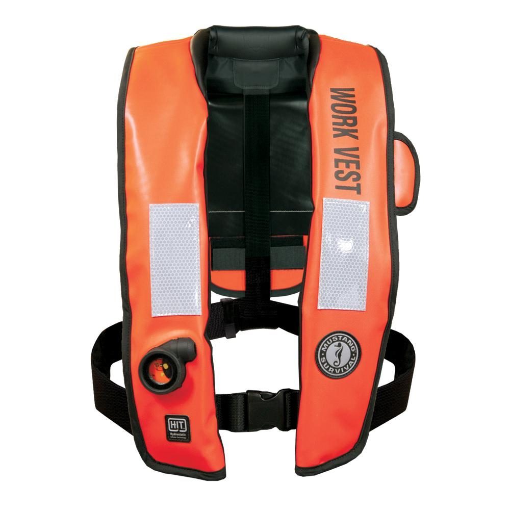 Mustang Survival Mustang Inflatable Work Vest W/hit Orange