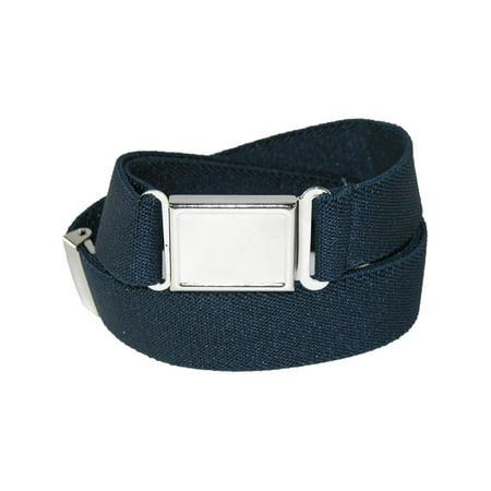 Kids' Elastic 1 Inch Adjustable Belt with Magnetic Buckle (Kids Punk Belt)