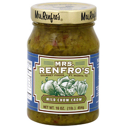 Mrs. Renfro's Mild Chow Chow, 16 oz (Pack of 6)