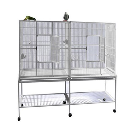 - A and E Cage Co. Double Flight Bird Cage 16421
