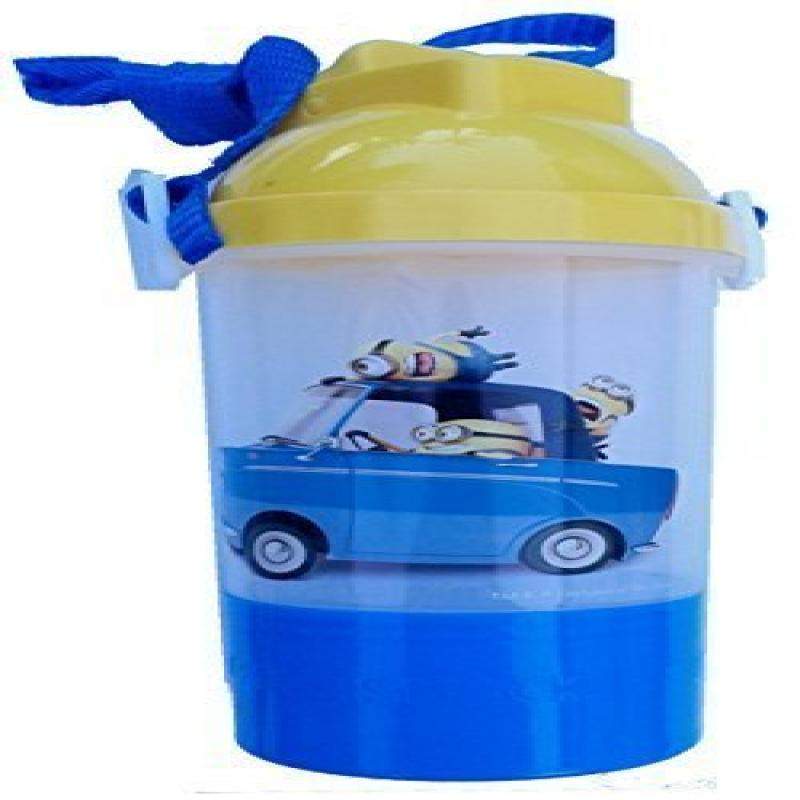 Despicable Me2 Rock & Sip Water Bottle With Snack Compartment