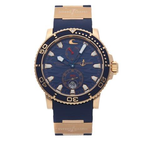 Pre-Owned Ulysse Nardin Maxi Marine Blue Surf  Chronometer Limited Edition (Ulysse Nardin Le Locle Suisse Marine Chronometer)
