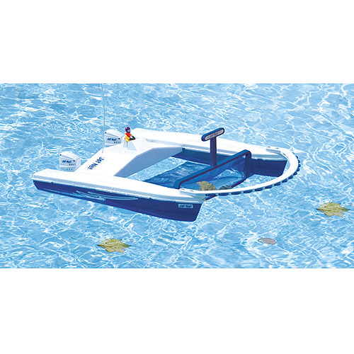 Jet Net Boat Pool Skimmer With Remote Control Walmart Com