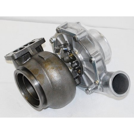 T72 T3 FLANGE Turbo Charger Twin Scroll Oil Cooled 4