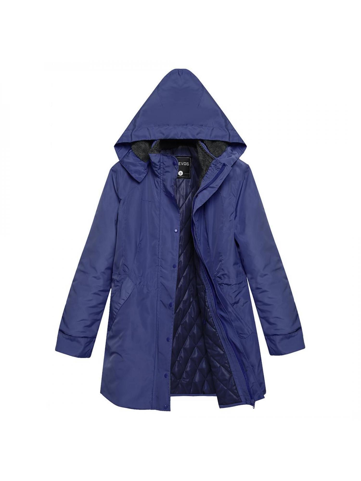 Lowest Price ever ! Women Winter Coat Front-Zip Hooded Parka Coat Outdoor Waterproof... by