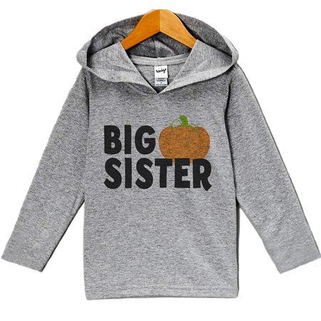 Custom Party Shop Baby Big Sister Halloween Hoodie - 5 (Custom Halloween)
