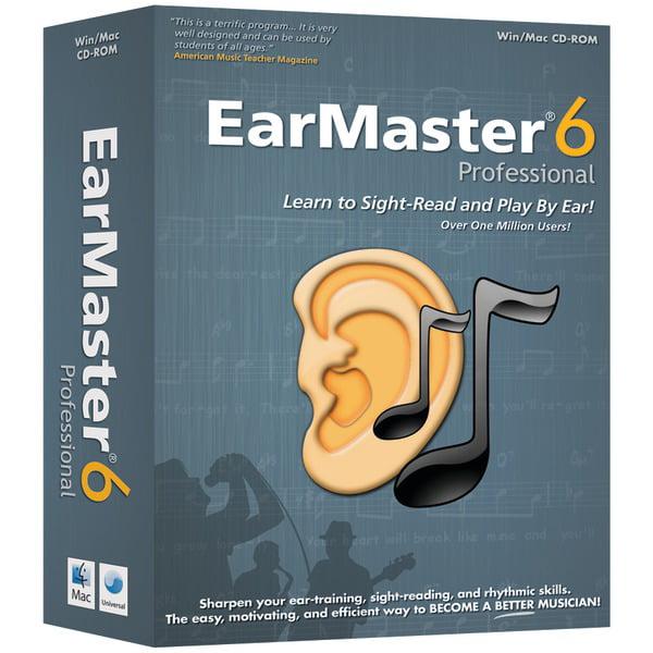 eMedia EarMaster 6 PRO Ear Training Software by Emedia