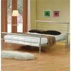 Coaster Leclair Twin Loft Bed Desk Black Silver Walmart Com