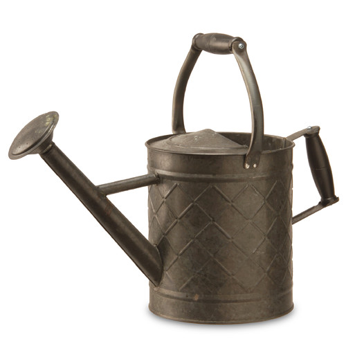 "12"" Garden Accents Antique Watering Can by Garden Accents"