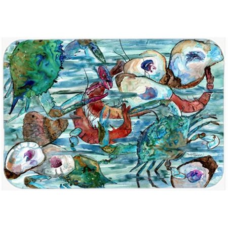 Watery Shrimp, Crabs & Oysters Mouse Pad, Hot Pad or Trivet - image 1 of 1