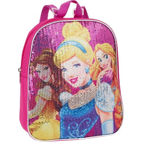 "Disney Princess Sequin 10"" Backpack"