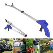 """EEEkit Reacher Grabber, 32"""" Extra Long Foldable Reaching Pick up Tool Claw Heavy Duty Mobility Aid Arm Extender Gripper Tools for Trash Pick Up Litter Picker Garden Elderly Reach Assist Tool"""