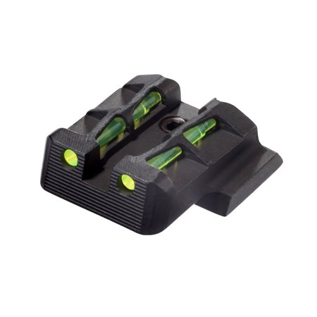 HIVIZ® LiteWave® Rear Sight for Smith & Wesson M&P H.G.'s. Fits full size and compact