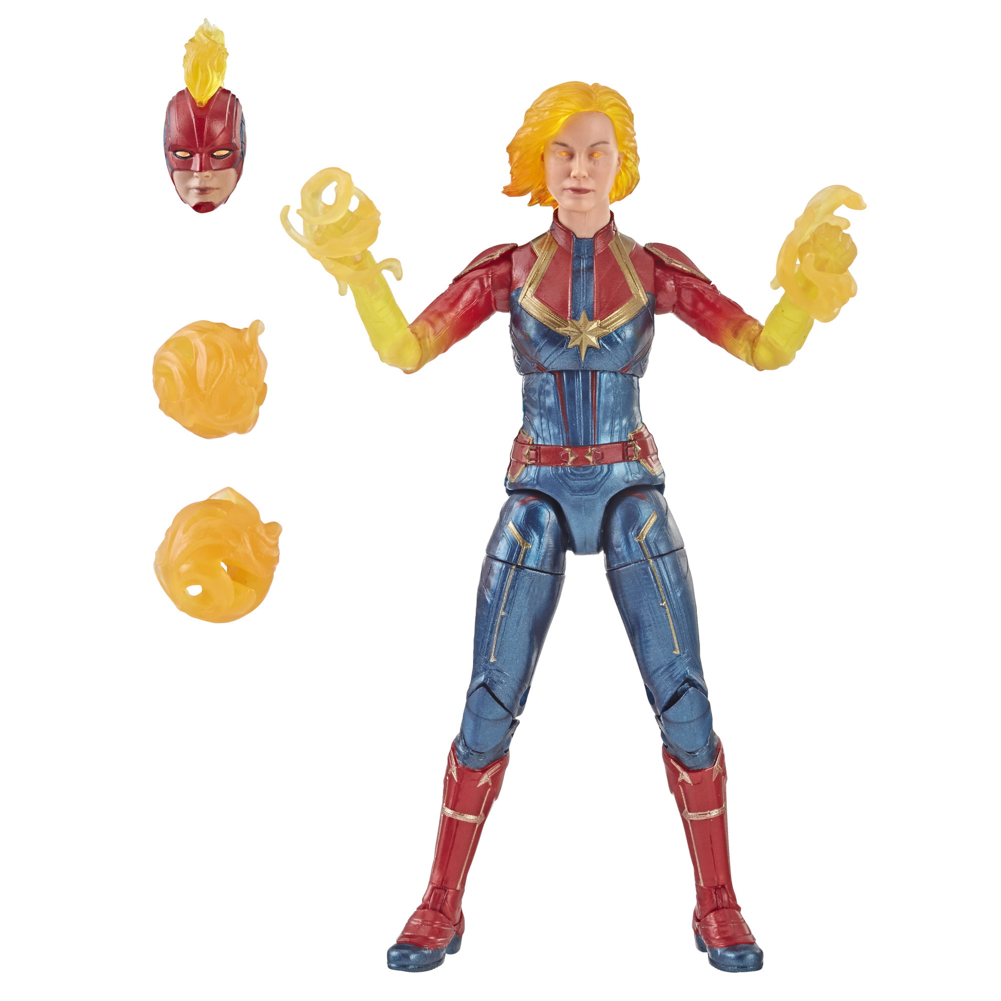 Marvel Legends Series: Captain Marvel Movie (Binary Form) Figure