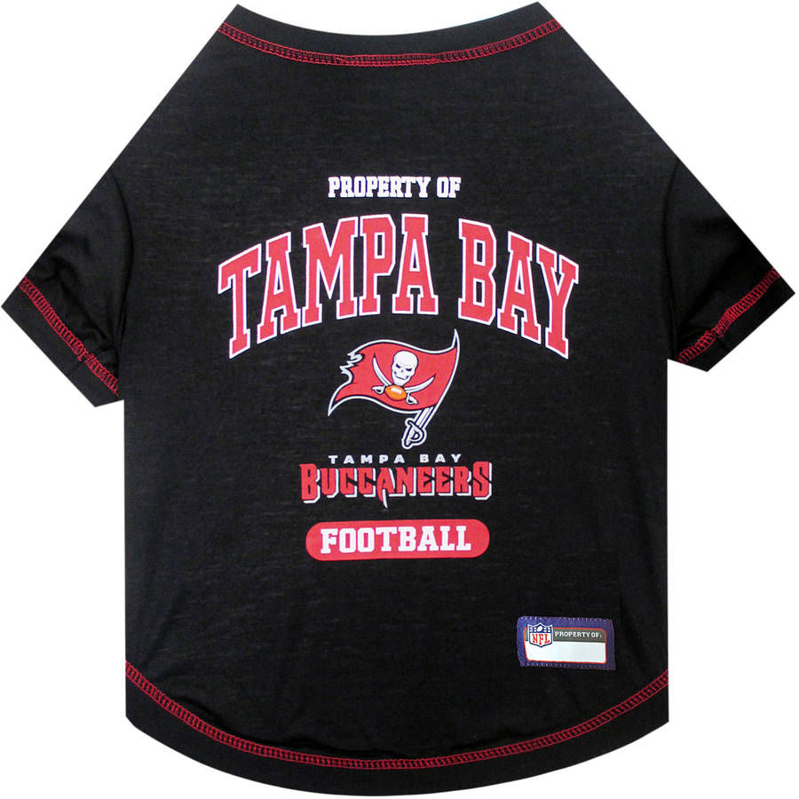 Pets First NFL Tampa Bay Buccaneers Pet T-shirt, Assorted Sizes