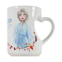 Zak! Designs Disney Frozen Heart Color Changing Mug