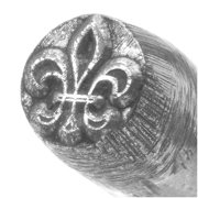 Fleur De Lys Punch For Stamping Metal 1/4 Inch 6mm (1)