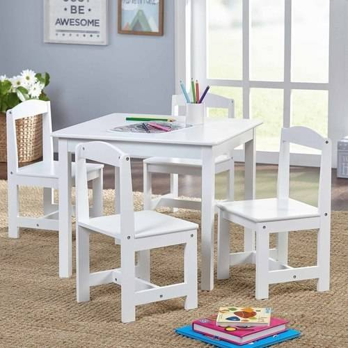 Hayden Kids' Table and Chairs Set, Multiple Colors, 5-Piece by Overstock