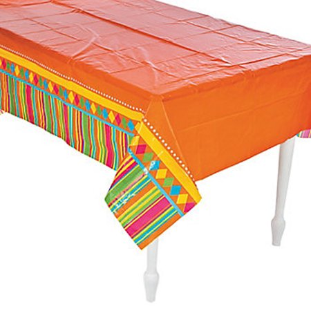Fiesta Party Tablecloth - Fiesta Tablecloth