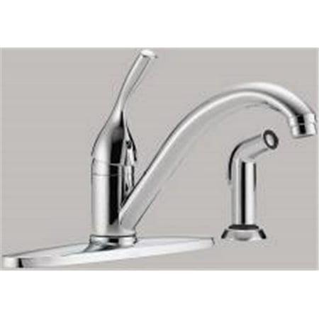 Delta Kitchen Faucet Single Handle Lead Free Chrome Canada