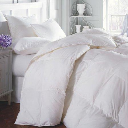 Cotton Duvet Comforter - 1-PC 899 Queen White Goose Down Alternative Comforter, 100% EGYTION COTTON DUVET INSERT for All Season with Pillow Shams