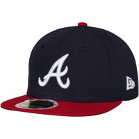 Atlanta Braves New Era Youth Authentic Collection On-Field Home 59FIFTY Fitted Hat - Navy/Red