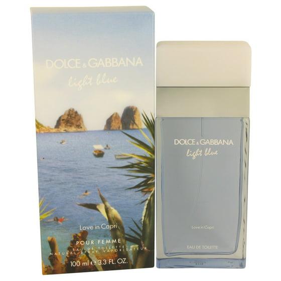 Dolce Amp Gabbana Dolce Amp Gabbana Light Blue Love In Capri