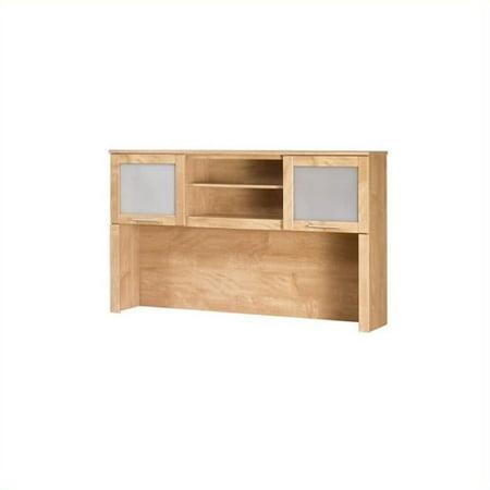 Scranton & Co Hutch for 60 inch L Desk in Maple Cross