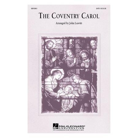 Hal Leonard The Coventry Carol 3-Part Mixed Arranged by John Leavitt