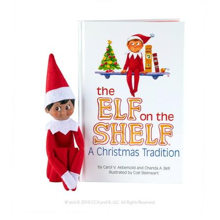 The Elf on the Shelf Boy Dark (Letter From Elf On Shelf To Child)