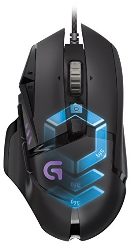 Logitech G502 Proteus Spectrum RGB Tunable Gaming Mouse, FPS Mouse by Logitech